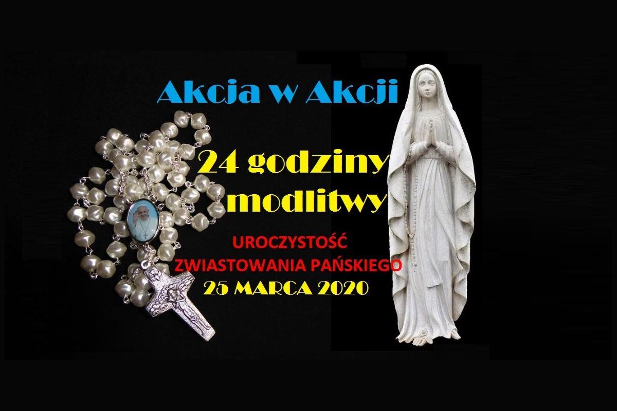 Modlitwa AK w Polsce w intencji ustania pandemii
