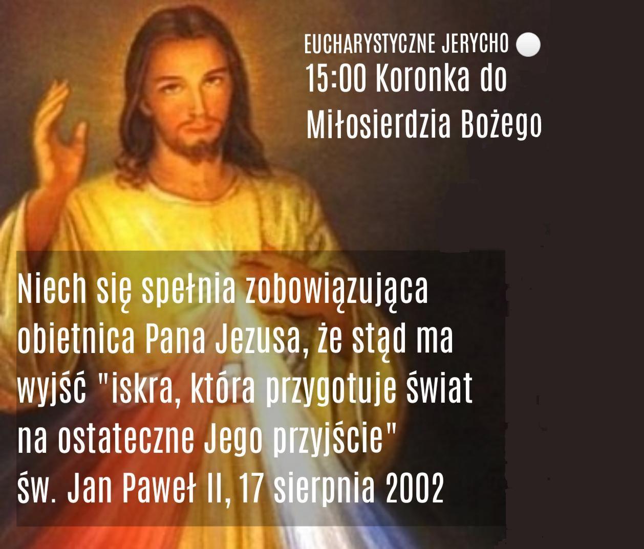 """""""Eucharystyczne Jerycho"""" o ustanie epidemii"""