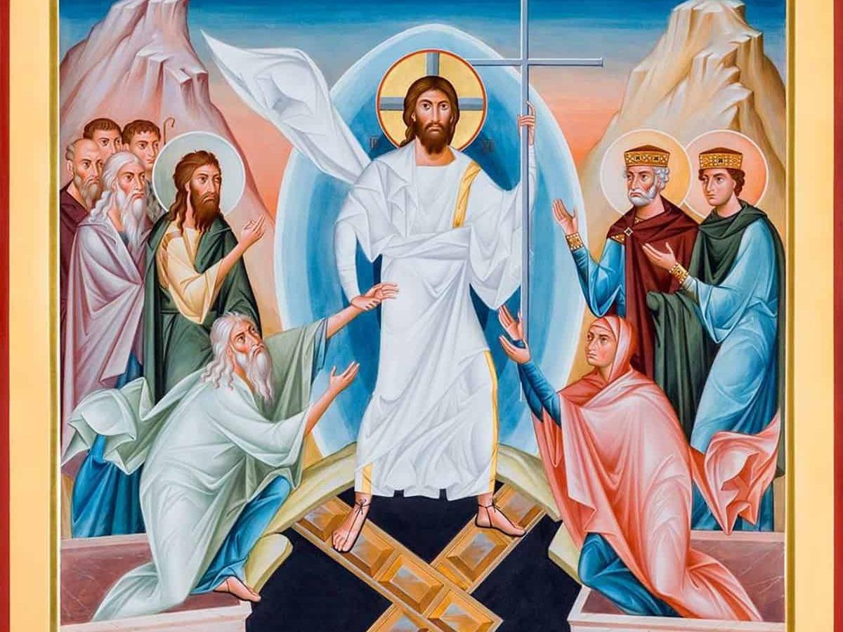 Zmartwychwstały Jezus niech błogosławi