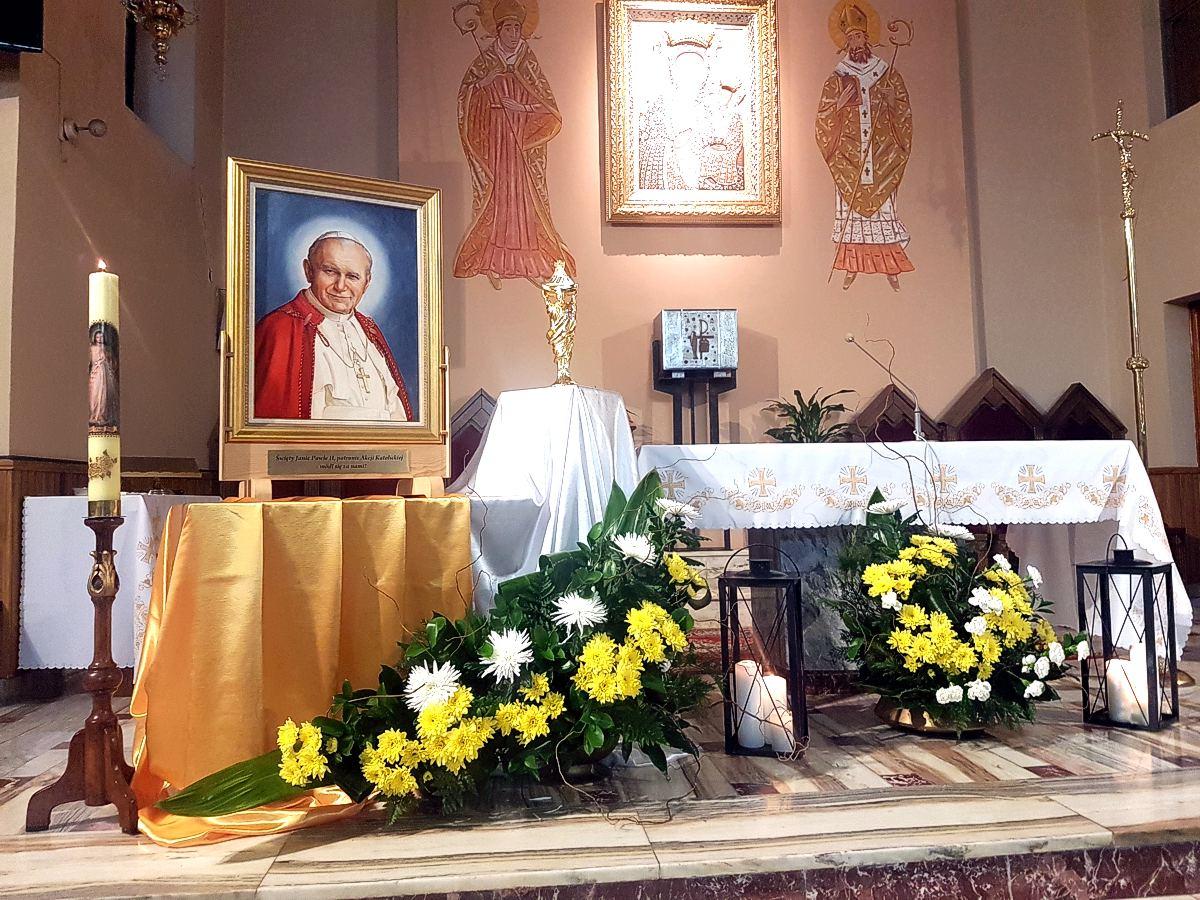 Peregrynacja relikwii Św. Jana Pawła II w Niecieczy