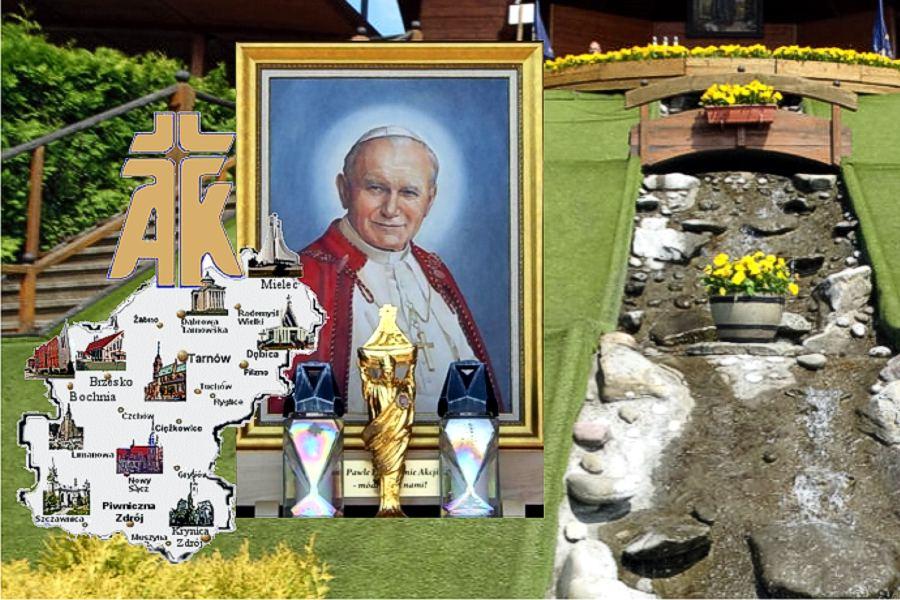 100. rocznica urodzin Św. Jana Pawła II.18.05.2020