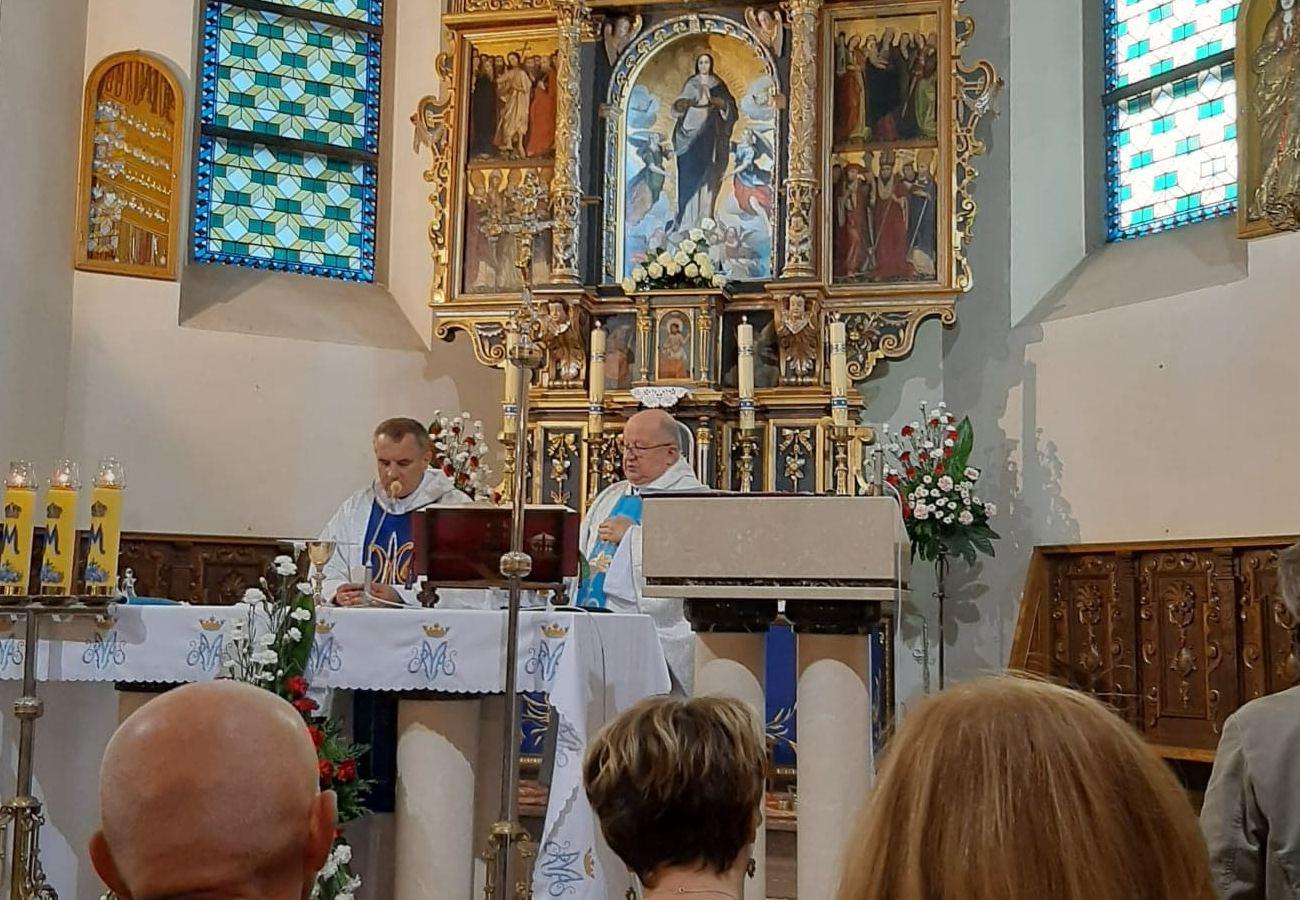25-lecie AK DT w parafii pw. NMPW w Barcicach