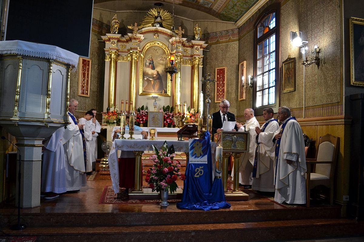 25-lecie AK DT w parafii św. Antoniego w Gołkowicach